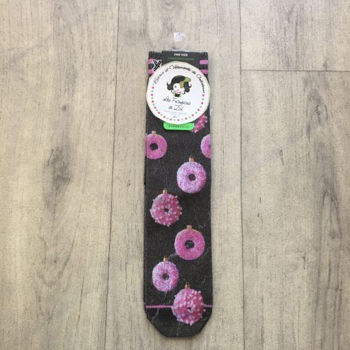 Chaussettes femme donuts