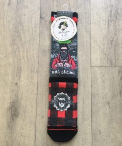 Chaussettes homme christmas barber 60214