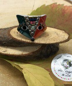 Bague renard émaillée et perles Taratata 106875