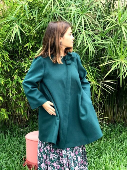 Manteau vert Hippocampe