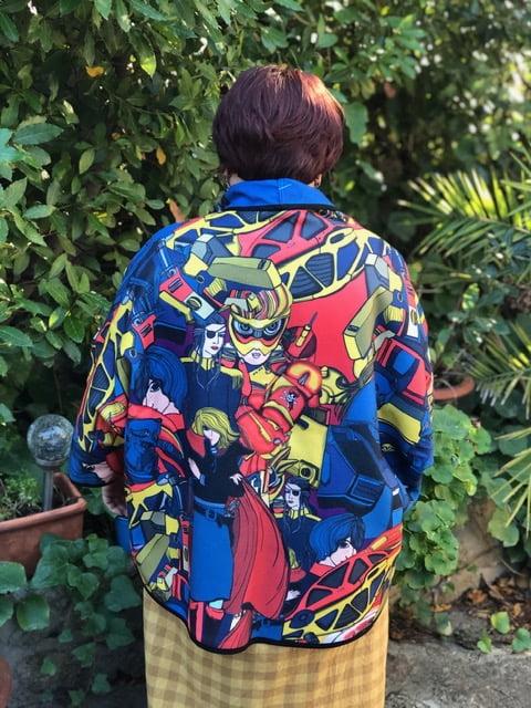 Kimono marie Antoilette space et pirate taille unique